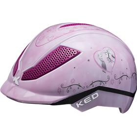 KED Pina Kask rowerowy Dzieci różowy